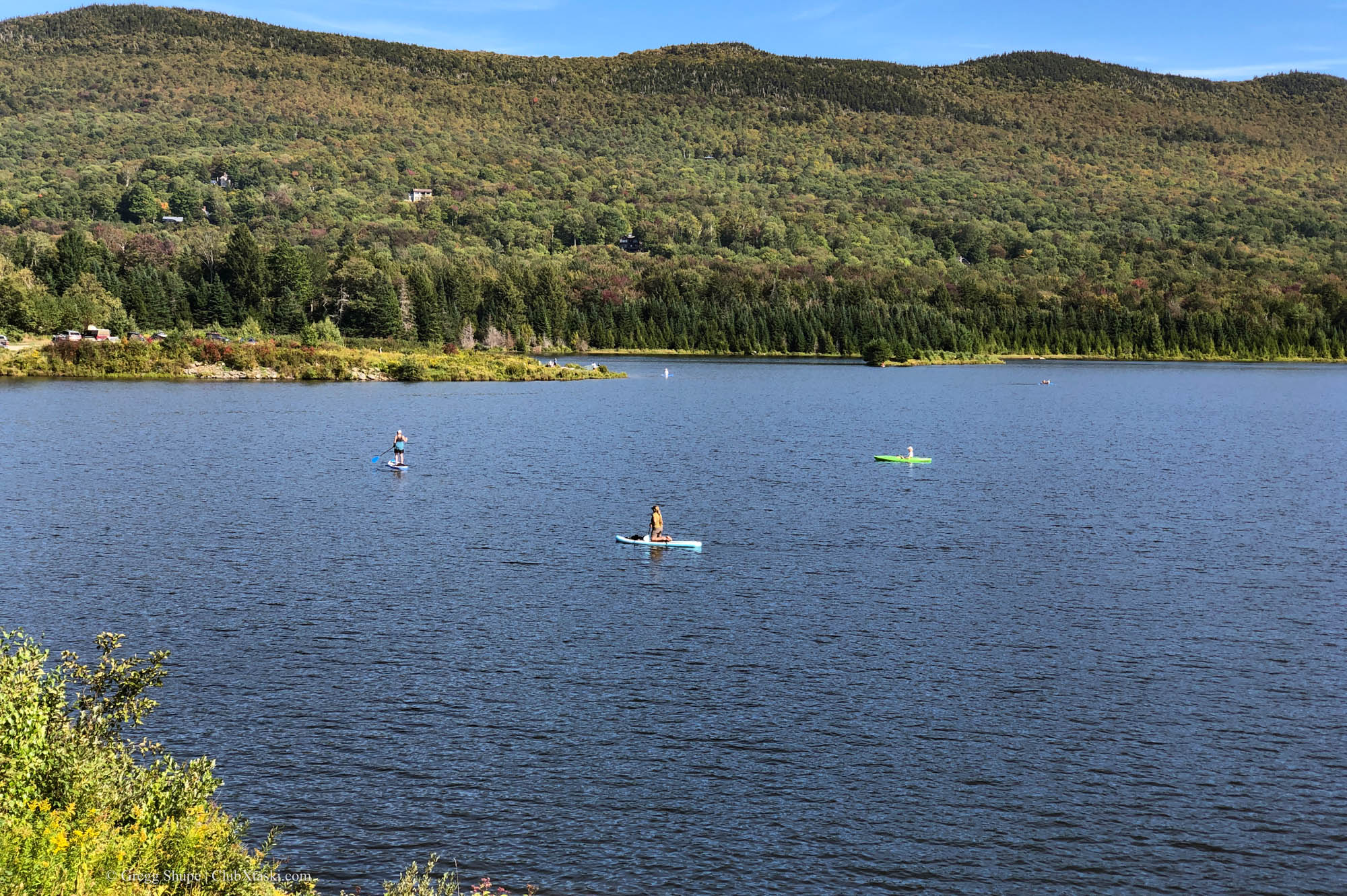 Paddle Board on Blueberry Lake - Warren, VT